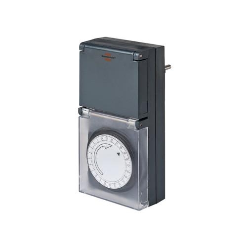 Таймер механический суточный Brennenstuhl MZ 44; IP 44 1506460