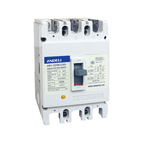 Автомат выключатель ANDELI AM1-225L 3P 125A, 160A, 200A, 250A