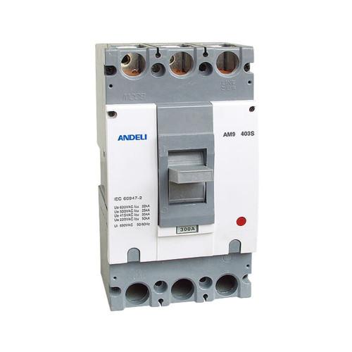 Автомат выключатель ANDELI AM9-403E 3P 400A