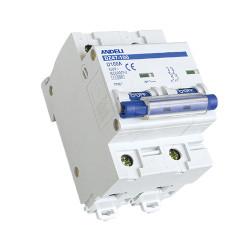 Автомат выключатель ANDELI DZ 47-100D-2P 63A, 80A, 100A 6кА