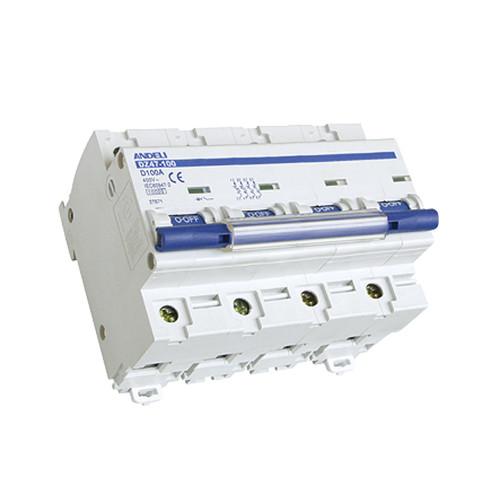 Автомат выключатель ANDELI DZ 47-100D-3P 125A 6кА