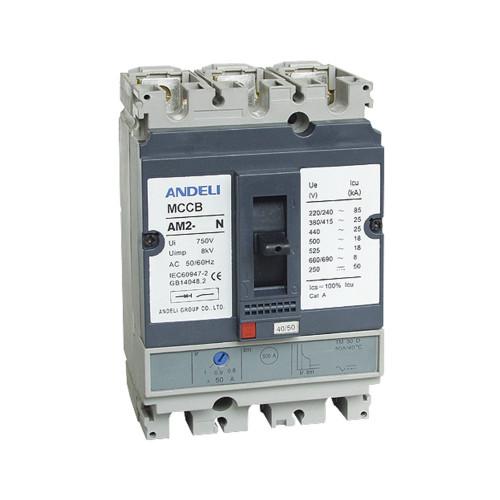 Автомат выключатель ANDELI AM2-250N 3P 250A