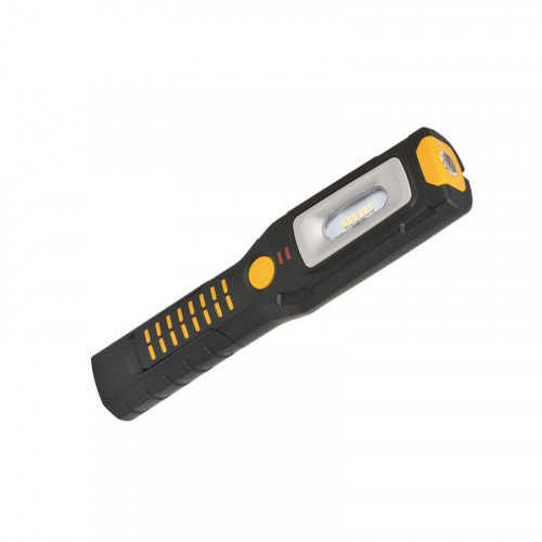 Фонарь светодиодный перезаряжаемый 6+1 с 2 крючками и USB-портом Brennenstuhl HL2 DA 61 M3H2, 300+100 лм 1175670