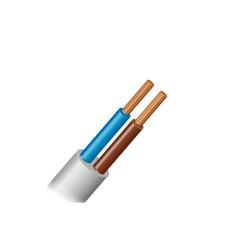 Провод ПВС 2х1,5 (кабель медный многожильный)