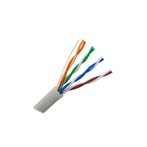 Сетевой кабель UTP cat 5e  4x2х0,5 (серый)