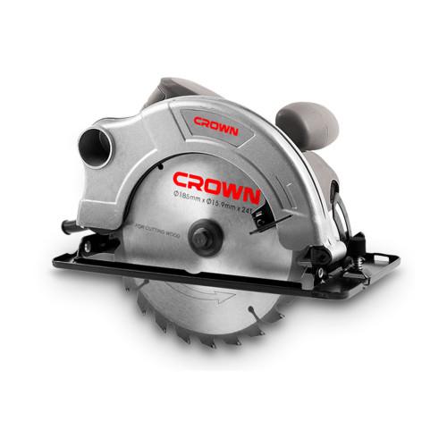 Пила циркулярная CROWN CT15074 диаметр диска 185mm