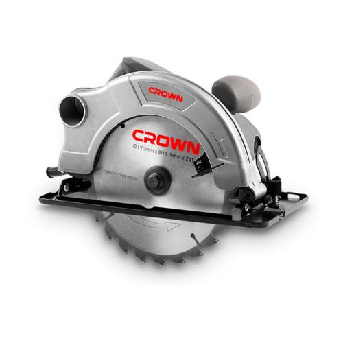 Пила циркулярная CROWN CT15075 диаметр диска 190mm