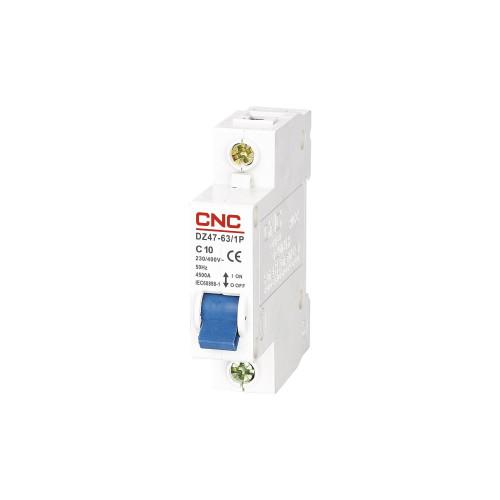 Автомат выключатель CNC DZ47-63 1P C2A C63A