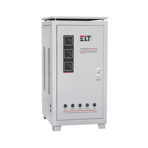 Стабилизатор напряжения (напольный 3-х фаз) ELT Volt Master 75 KVA 240-430 вольт