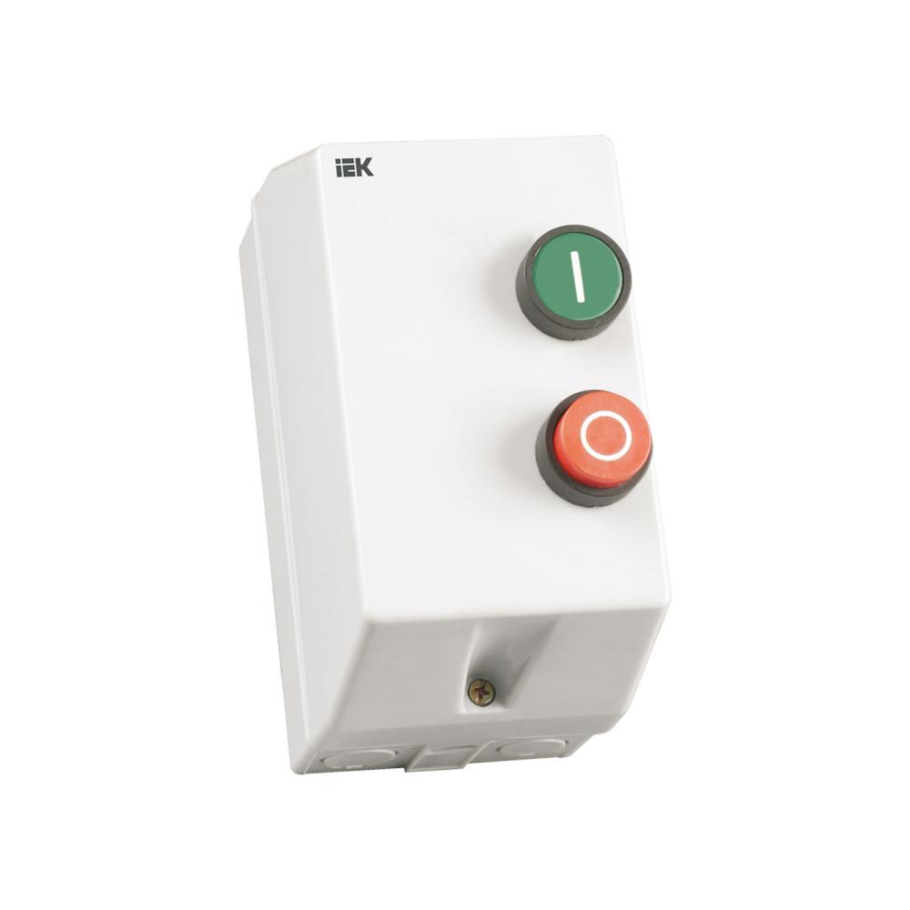 Контактор IEK КМИ-11260 12А в оболочке Ue=220В/АС3  IP54