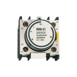 Приставка IEK ПВИ-21 задержка на выкл. 0,1-30сек. 1з+1р