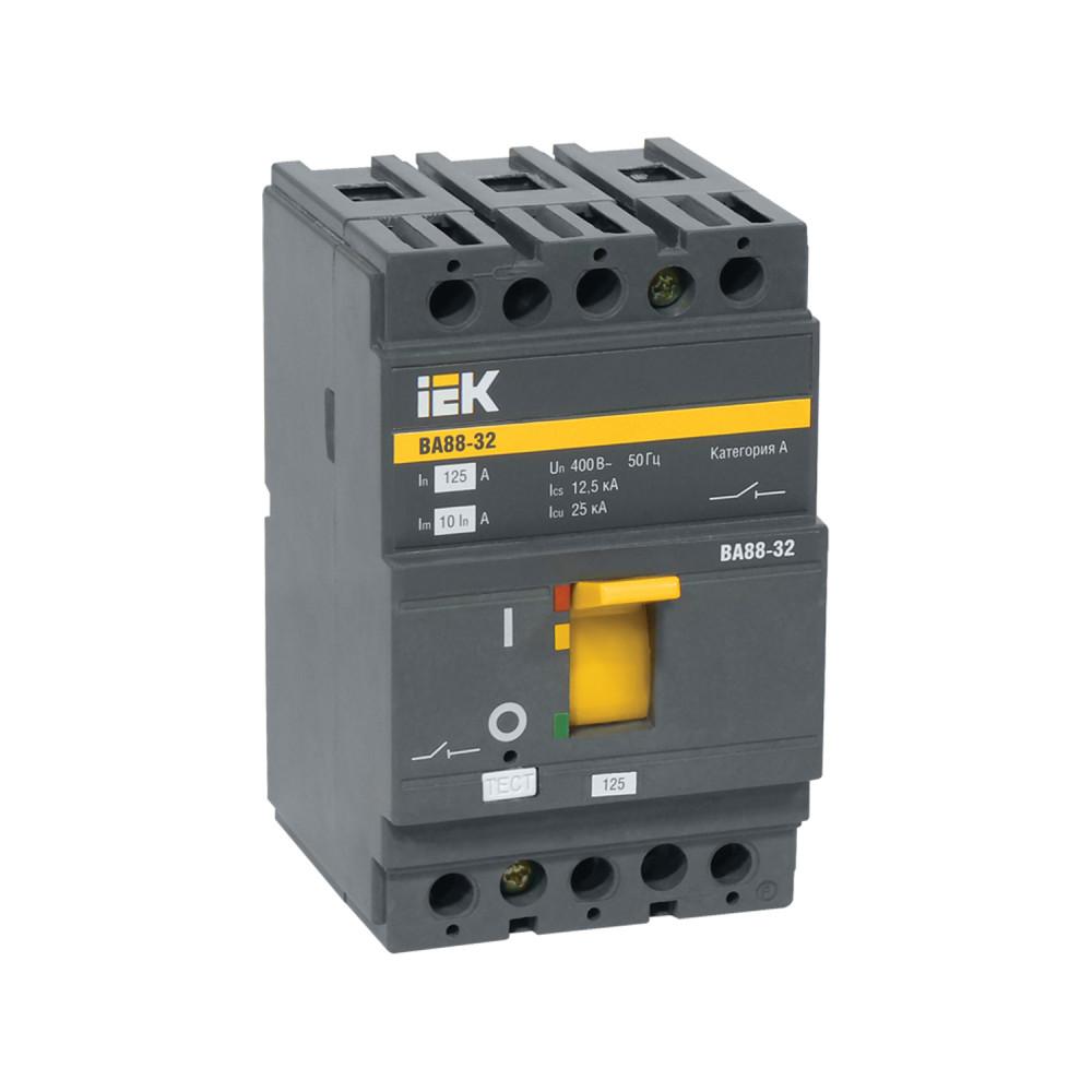 Автомат выключатель силовой IEK ВА88-32 3P 32А 25кА
