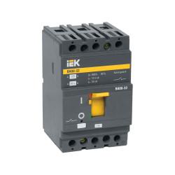 Автомат выключатель силовой IEK ВА88-32 3P 100А 25кА
