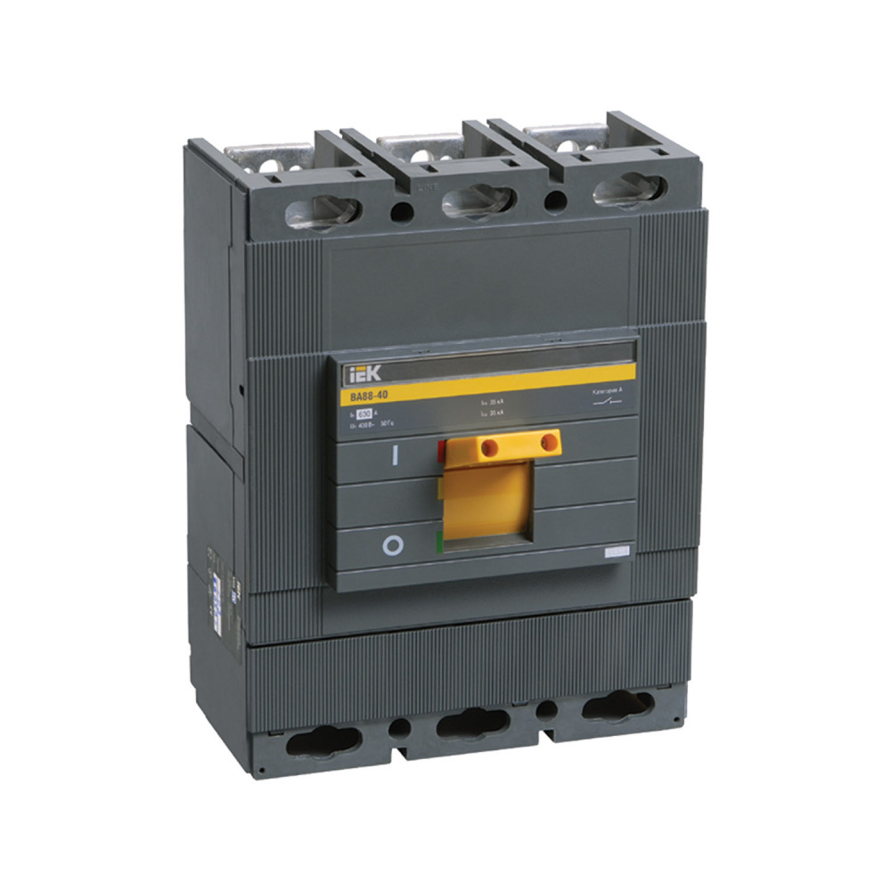 Автомат выключатель силовой IEK ВА88-40 3P 800А 35кА