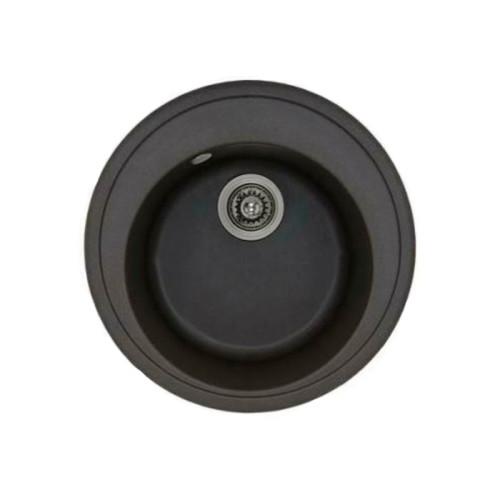 Кухонная стальная мойка HOFMANN SS6550SS/HF Black