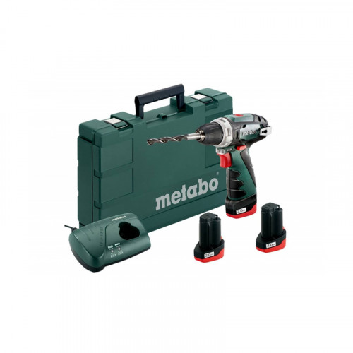 Аккумуляторный шуруповерт Metabo PowerMaxx BS BASIC SET