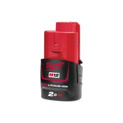 Аккумулятор MILWAUKEE M12 B2 (Li-Ion2Ач)