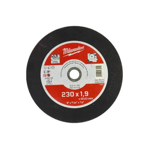 Диск отрезной Milwaukee SCS 41/230x1,9