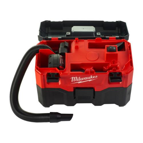 Аккумуляторный пылесос MILWAUKEE M18 VC2 для влажной и сухой уборки