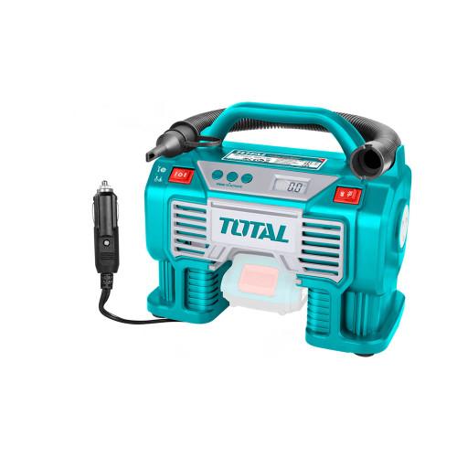 Аккумуляторный автомобильный компрессор TOTAL TACLI2002