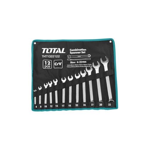 Набор комбинированных ключей Total с12pcs