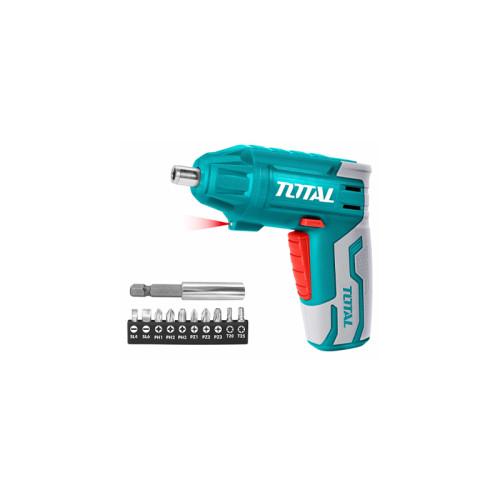 Аккумуляторная отвертка TOTAL TSDLI0401