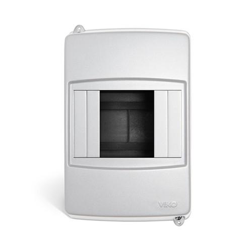 Щит накладной (бокс) VIKO накладной установки на 2-4 модульных автомата