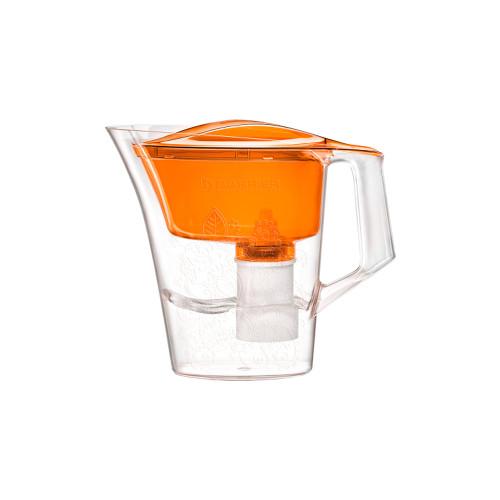 """Фильтр-кувшин для очистки воды """"БАРЬЕР Танго"""" оранжевый с узором"""