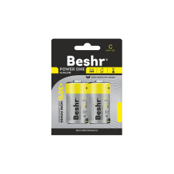 Батарейка BESHR POWER ONE ALKALINE  2B C LR14 1.5V