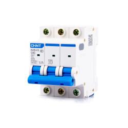 Автомат выключатель модульный CHINT NEXT NXB-63 3P на 10А, 16А, 25А, 32А, 40А