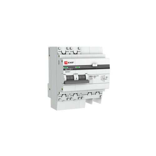 Дифавтомат EKF DA2-25-30-pro 25A