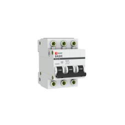 Автомат выключатель модульный EKF MCB4729-3-06C