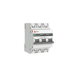 Автомат выключатель модульный EKF MCB4763-3-02C-Pro