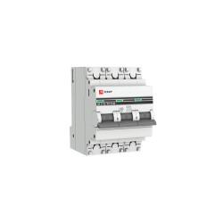 Автомат выключатель модульный EKF MCB4763-3-25C-Pro