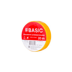Изолента (класс B) EKF plc-iz-b-y