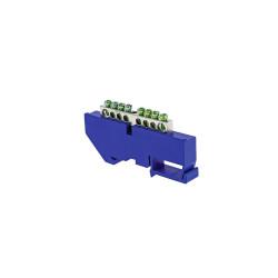 Шина (DIN изолятор) EKF sn1-63-08-d