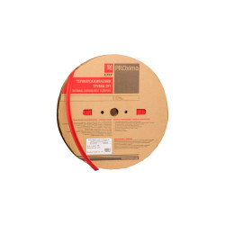 Термоусаживаемая трубка EKF tut-6-r Красная