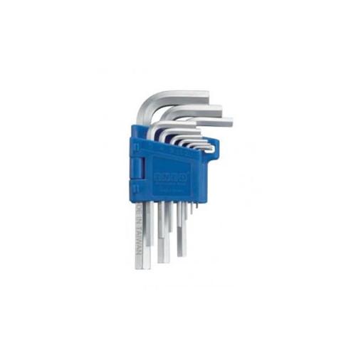 Набор ключей шестигранных HEX Г-образных INFO 9102
