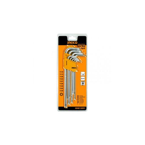 Набор ключей Torx  INGCO HHK 13091