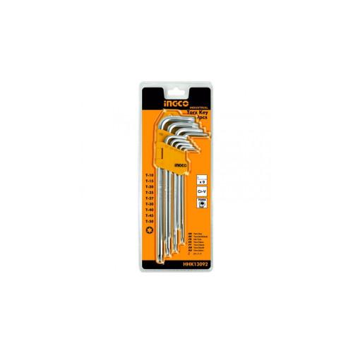 Набор ключей Torx  INGCO HHK 13092