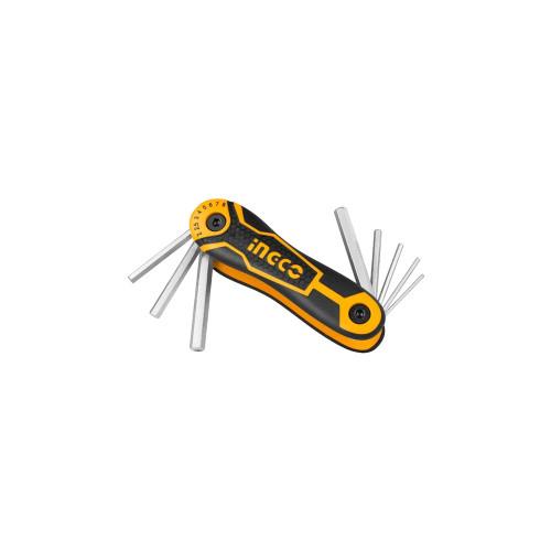Набор шестигранных ключей  INGCO HHK 14081