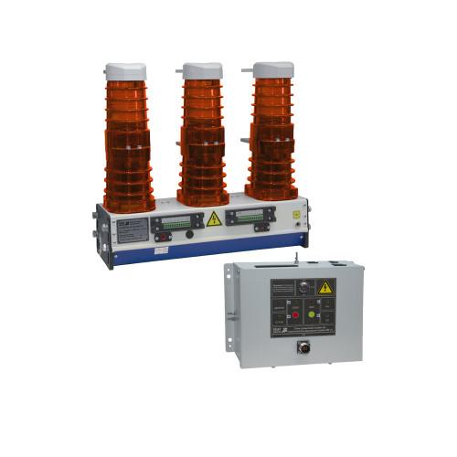 Вакуумный выключатель KEAZ OptiMat BB-10-20/1000-У2-130 с блоком управления OptiMat BU-11-У2