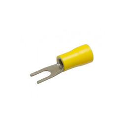 Наконечник кабельный вилочный изолированный НВИ 6х6