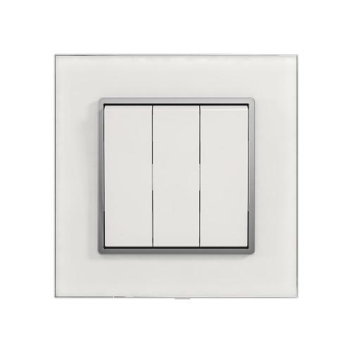 Выключатель SONGRI ELECTRIC SEU2-7 3 кнопочный