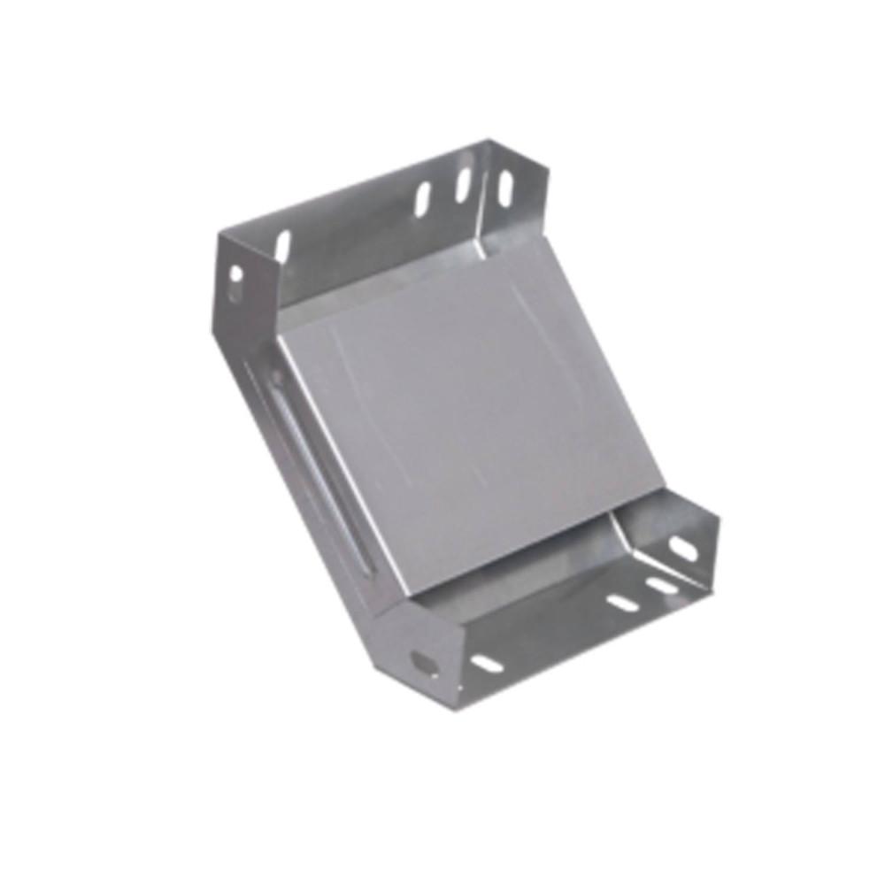 Поворот лотка металлический на 90гр вертикальный внутренний 50х150