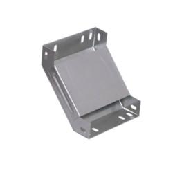 Поворот лотка металлический на 90гр вертикальный внутренний 50x200