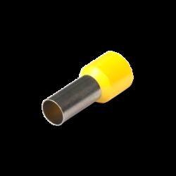 Наконечник кабельный штыревой втулочный изолированный НШВИ 25x16